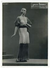 photo mannequin de cire par Pierre Imans - femme Paris Art déco 1930