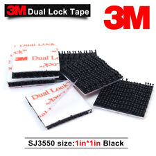 3M SJ3550 3550 Dual Lock VHB Tape Black Adhesive Fastener 1