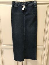 BRAND NEW W/ TAGS DENIM SKIRT WITH SLIT, BY ARDEN B N/A SIZE 1, DISCONTINUED