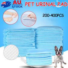 200/400pk  Pet Dog Cat Training Pads Absorbent Indoor Puppy Toilet Pee Pad BLUE