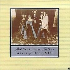 The Six Wives of Henry VIII by Rick Wakeman (CD, Mar-2003, A&M (USA))