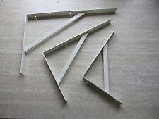 Schwerlastkonsolen Steg Regalträger Bodenträger  500x330 mm Tragkraft 200kg weiß