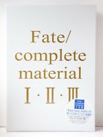3 - 7 Days | Fate/Complete Material I II III Art Book + Case from JP