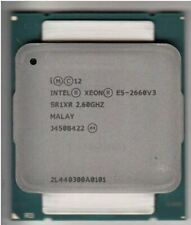 More details for intel xeon ten-core e5-2660v3 2.60ghz 25mb lga2011-3 server cpu processor sr1xr