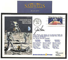 MS1499 1979 USA NASA Moon Landing SPACE Event Cover Signed *IRWIN* ASTRONAUT