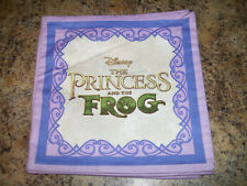 Disney Thomas Kinkade PRINCESS AND THE FROG Tiana Naveen Fabric Book Cloth Soft