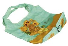 "Tote Bag -Fine Art Design -""Vase of Sunflowers"" by - Vincent Van Gogh - Fold-up"