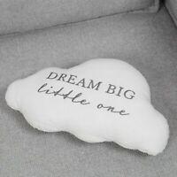Bambino Cloud Cot Bed Cushion Dream Big Little One Baby Shower Newborn Nursery