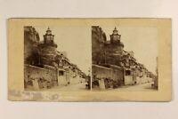 Italia Napoli Posillipo Vintage Tempio Giappone Cina Foto Stereo Vintage Albumin
