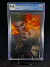 CGC 9.8 Joker 80th Anniversary Artgerm PUREart Passion Virgin Variant Punchline