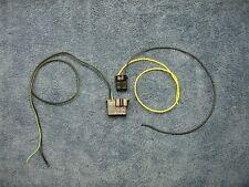 1969 CHEVROLET CHEVELLE CAMARO NOVA DELCO RADIO DASH CONNECTOR PLUG SET 69 CHEVY