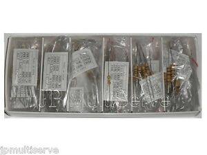 2W 1W 1/2W Resistor Assortment Kit 2 Watts 1 Watt