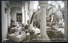 Mexico~1940's HOTEL LOS ARCOS~BEST IN TAXCO GRO~RPPC