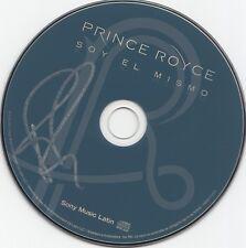 PRINCE ROYCE autographed (SOY EL MISMO) CD *GEOFFREY ROJAS* W/COA