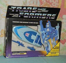 original G1 Transformers SCOURGE MIB MISB sealed