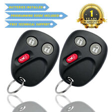 2 Replacement for Chevrolet Silverado 2003 2004 2005 2006 Remote Car Key Fob