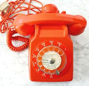 TELEPHONE VINTAGE ORANGE - TYPE S63
