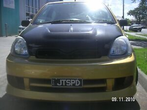 TeamJetspeed Made Fiberglass 1998-2005 TOYOTA ECHO JS Style Bonnet Grille Only