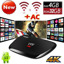 V99 Hero 4GB+32GB 4K HD Octa Core Android TV BOX WiFi 2.4GHz/5GHz Media HDMI UK
