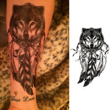 Körper Tattoos Aufkleber Hauttattoo Einmal Tattoo Temporary Schmuck Fuchs Design