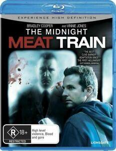 Midnight Meat Train BLU RAY - Rare OOP Region B OOP Australian Release