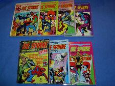 """Comic - Taschenbücher """" Die Spinne """" Nr. 6, 32, 33, 34, 35, 36, 37 Condor Verlag"""