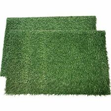 New listing Loobani Dog Grass Pee Pads, Artificial Turf Pet Grass Mat Replacement for Puppy
