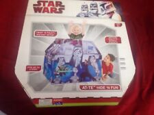 STAR WARS CLONE WARS PLAYHUT AT-TE Hide n' Fun Fort/Tent/Bed Topper NIB! 2009!
