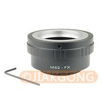 M42 Lens to Fujifilm X Mount Fuji X-Pro1 X-M1 X-E1 X-E2 X-Pro1 X1 Adapter