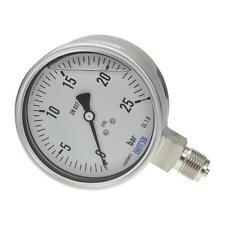 Manometer, NG 100, 0....25 bar, G 1/2 B unten - WIKA 233.50  - 9020888