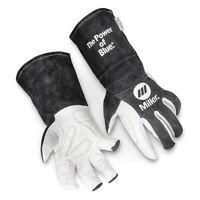 Miller Electric 279899 Tig Welding Gloves, Goatskin Palm, Xl, Pr