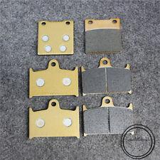 Front Rear Brake Pads For Suzuki GSX-R400 GSXR750/1100 Katana GSX1100 GSF1200