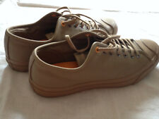 CONVERSE JACK PURCELL LOW TOP LEATHER SNEAKERS  OLIVE GREEN 42 EU - 9 US