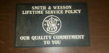 Smith & Wesson  Display Case Plaque /mat