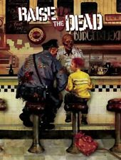 """Norman Rockwell The Runaway """"Zombified"""" by Arthur Suydam ~ Zombie Poster New"""