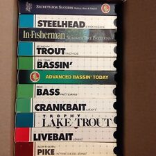 Lot of 11 In-Fisherman Vhs Fishing videos