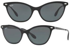 Ray-Ban Damen Herren Sonnenbrille RB4360 919/71 54mm schwarz cat eye RBH5 H