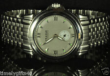 NEW Mens PRAGUE M2 AUTOMATIC Watch S/S Sapphire Crystal 22 Jewels Cost $595