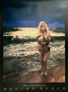 Marilyn Monroe Tommy Merryfield Poster 46-1/2 x 33 NEW/MINT 1987