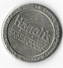 Harrah's Hotel Casino $1.00 Gaming Token Black Hawk Colorado