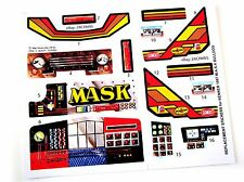 MASK stickers for KENNER M.A.S.K BULLDOG / Bulldoze Stickers Personalized