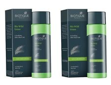 Biotique Bio Wild Grass A Soothing After Shave Gel for Men, 120 ml (pack 2)