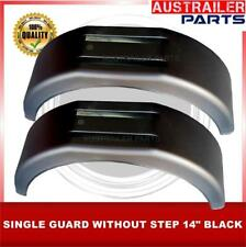 """2 X 14"""" BLACK SINGLE  PLASTIC GUARD WITHOUT STEP"""