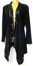 TS jacket TAKING SHAPE plus sz XXS/ 12 Dot To Dot Cardy faux leather stretch NWT