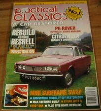1992.Practical Classics CAR Restorer.CITROEN 2CV.ROVER P6.mini.MGA.Siddeley