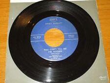 "ROCK + ROLL 45 RPM - JIMMY SURRATT - JOHN'S 78321  ""YOU CAN'T TELL ME I'M WRONG"""