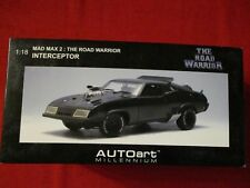 AUTOART ™ Millennium 72745 1:18 Mad Max The Road Warrior Intercepteur NEUF neuf dans sa boîte