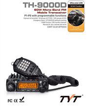 TYT TH9000D VHF 136-174MHz 200CH 60W Quad Band Car Two Way Ham Radio Transceiver