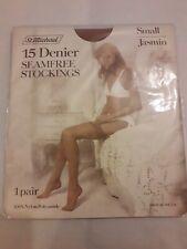 Vintage 1980's St Michael 15 Den Seamfree JASMIN Stockings Size Small
