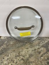 "Circulon Bronze Premier Professional 8 Qt Stock Pot 10"" Glass Replacement Lid"